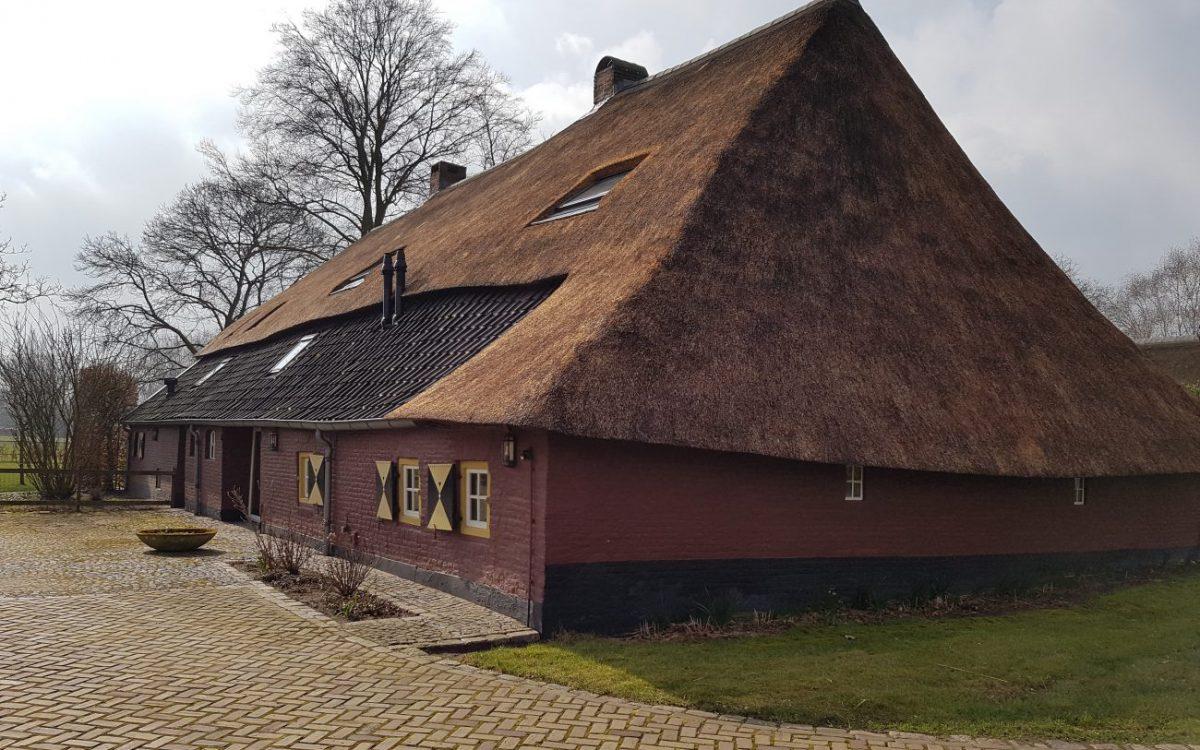 Verbouwing oude boerderij in Wijbosch