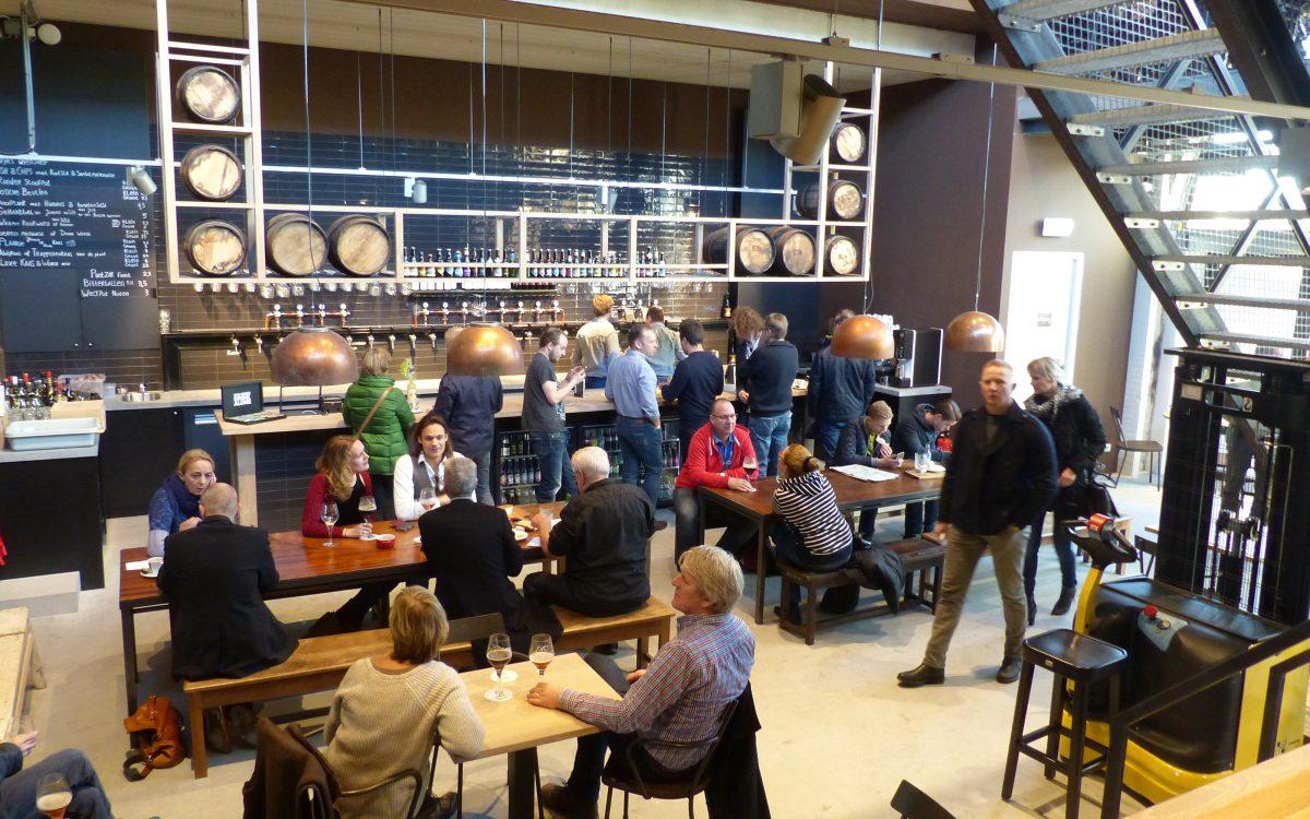 Verbouwings stadsbrouwerij te 's-Hertogenbosch