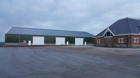 Nieuwbouw van een agrarische bedrijfsruimte in Zwanenburg