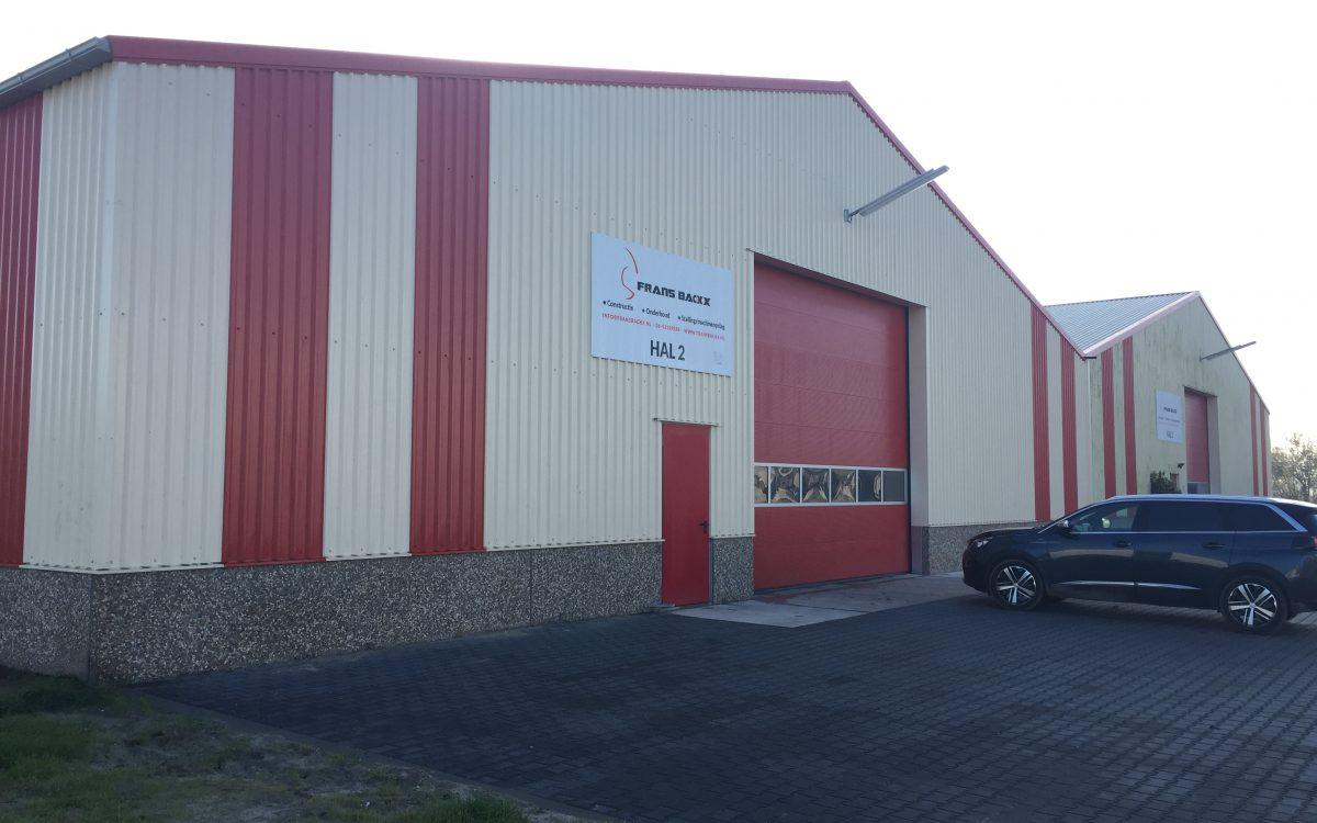 Nieuwbouw machinewerkplaats in Rutten