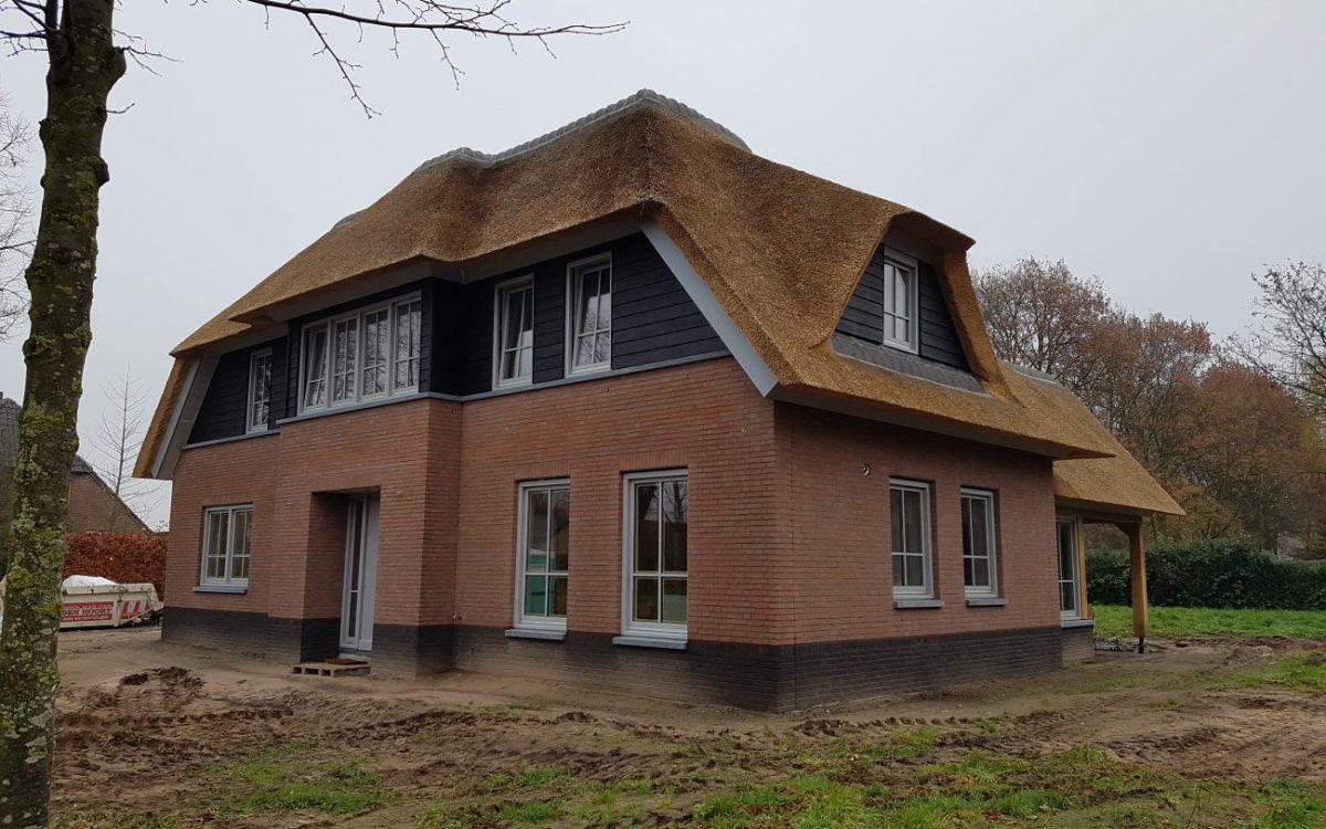 Nieuwbouw van een landelijke woning in Den Dungen