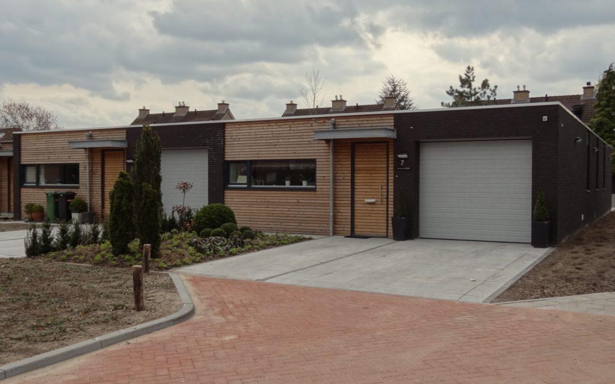 Nieuwbouw van patiobungalows in Berlicum