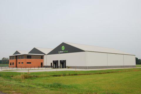 Nieuwbouw kantoor met bedrijfsruimte in Drunen