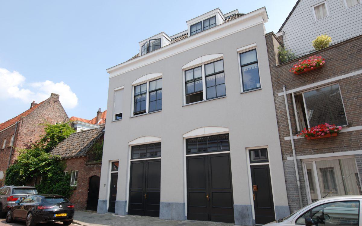 Verbouwing van een oud pand in 's-Hertogenbosch