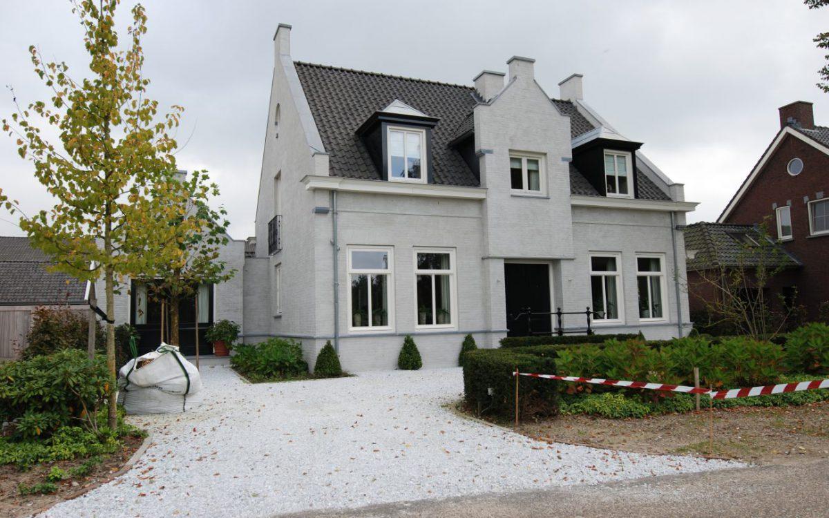 Nieuwbouw van een notariswoning in Berlicum
