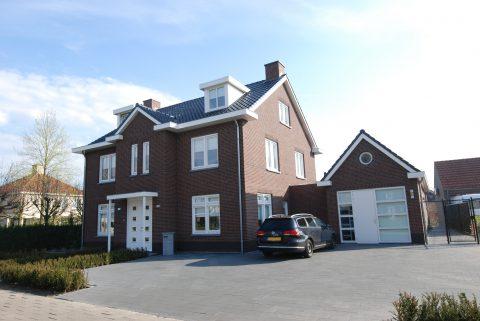 Nieuwbouw van een luxe woning in Berlicum