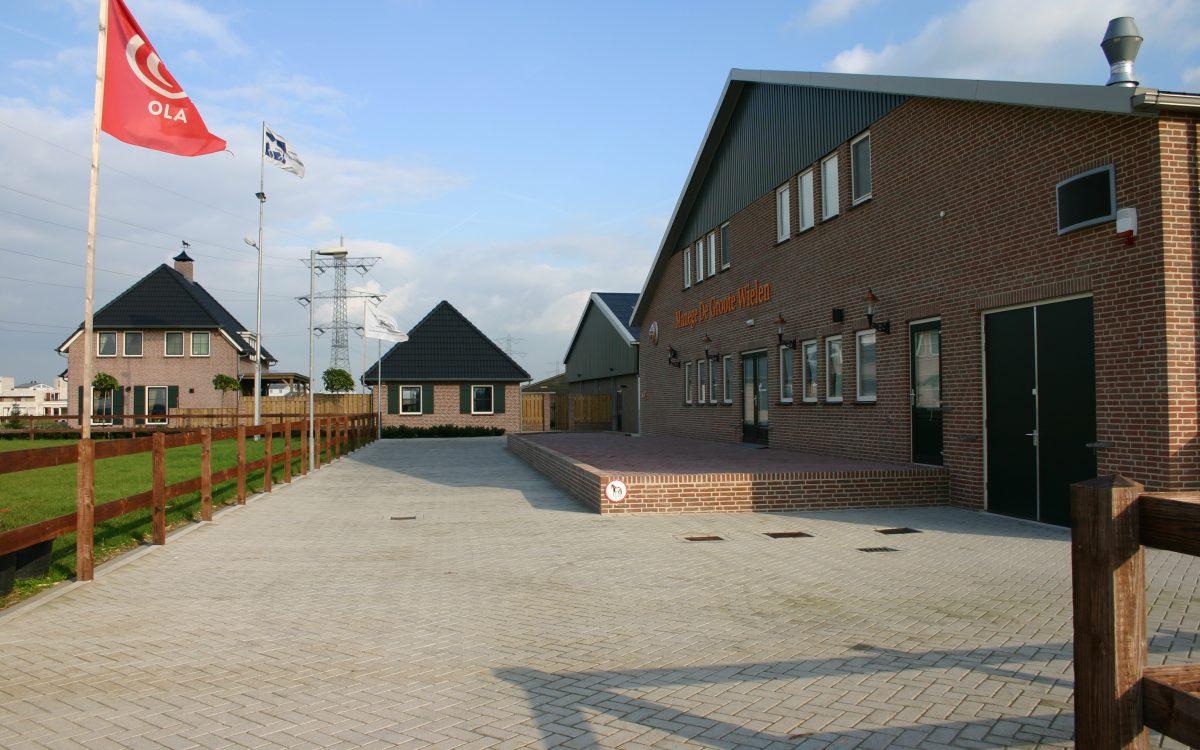 Nieuwbouw van een manege in Rosmalen