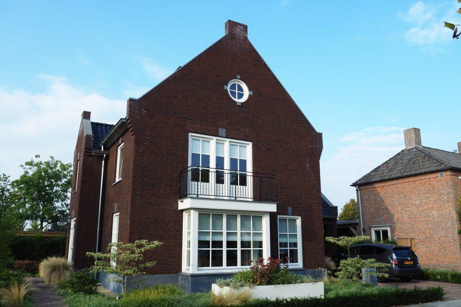 Nieuwbouw van een woning in Berlicum