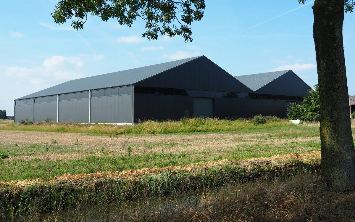 Nieuwbouw van een opslaghal in Rosmalen