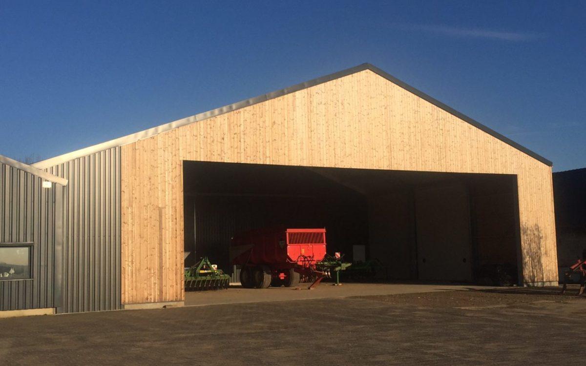 Nieuwbouw van een aardappelbewaring in Wijnandsrade