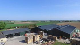 Nieuwbouw van een aardappelbewaring in Hulsberg