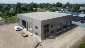 Nieuwbouw garagebedrijf in Dreumel