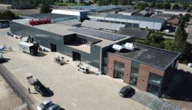 Nieuwbouw van kantoor en bedrijfshal in Heeswijk-Dinther